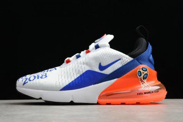 Cheap Mens Nike Max 270 Fifa World Cup Air Russia 2018 White Racer