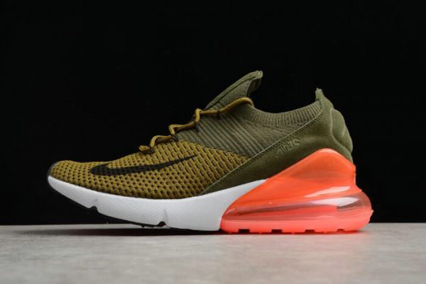 sale retailer a9122 cc752 Cheap Mens and WMNS Nike Air Max 270 Flyknit Army Green Dark Green Black Red