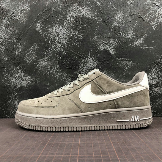 super populaire 32ea2 13a65 Nike Air Force 1 07 Mens AA1118-006 Grey Pig Eight Gris ...