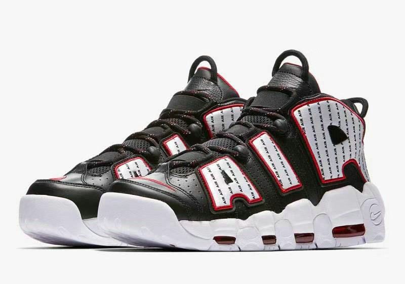 newest collection 0477f edb73 Cheap Nike Air More Uptempo Pinstripe Pack Celebrates 1996 AV7947-001 Black  White-University