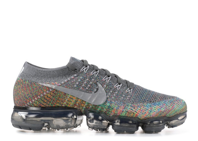 f14dcc0cc0eb5f Cheap Nike Air Vapormax Flyknit Multicolor 849558-019 Dark Grey Reflect  Silver Blue Orbit