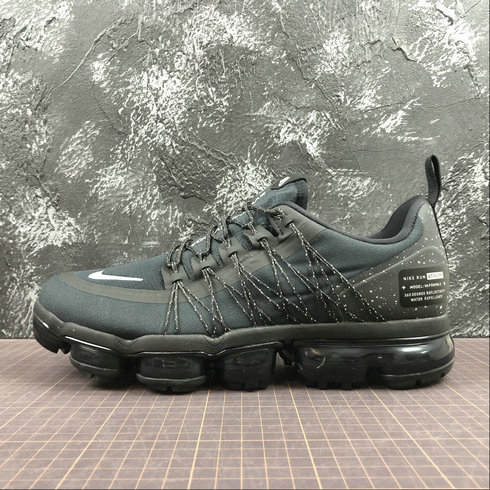d91c768af339a9 Cheap Nike Air Vapormax Run Utility AQ8810-001 Black White Dark Grey Noir  Gris Fince