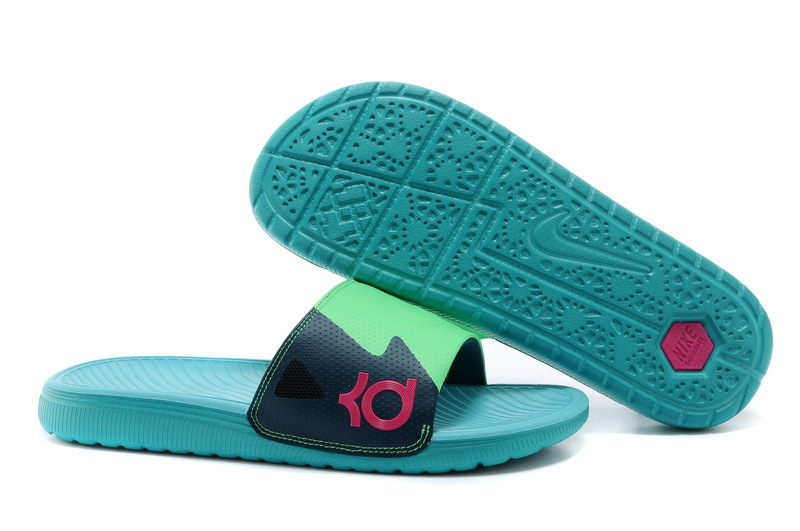 Nike KD Slide Slippers May Green For Sale