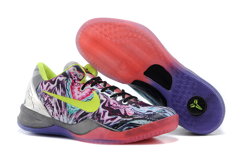 Nike Kobe 8 Prelude Reflection Multi-Color Volt-Chrome For Sale
