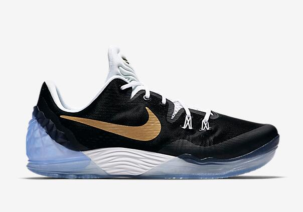 Nike Kobe Venomenon 5 EP Bryant Black Gold 2016 For Sale