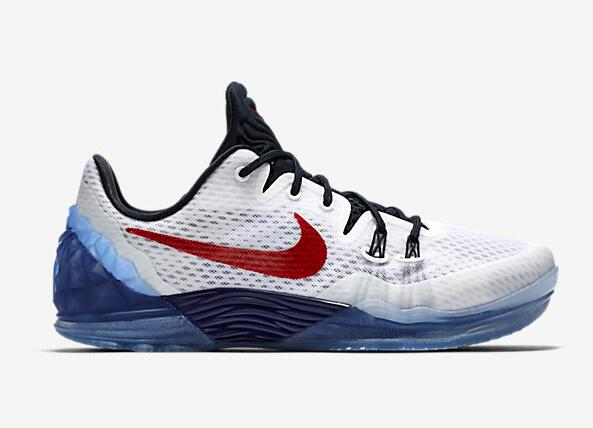 Nike Kobe Venomenon 5 USA White Team Red-Midnight Navy 2016 For Sale