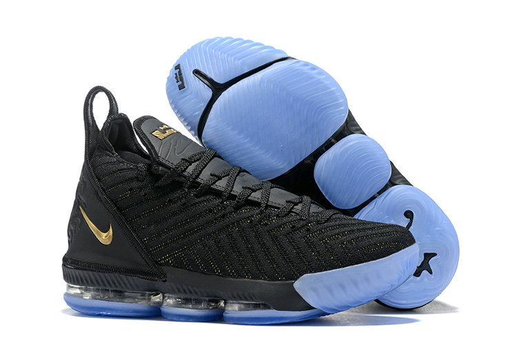 38bb762f806 Cheap Nike LeBron 16 Im King BQ5970-007 Black Metallic Gold-Black ...