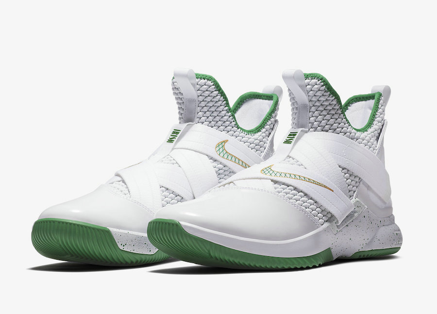 Cheap Nike LeBron Soldier 12 SVSM Home AO2609-100 White Multi-Color