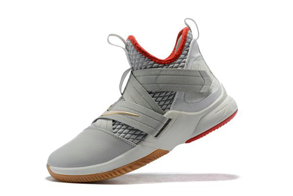 Cheap Nike LeBron Soldier 12 Yeezy Light Bone AO2609-002 Free Shipping