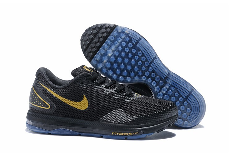 Nike Zoom All Out Low 2 Black Gold Running Shoes For Sale
