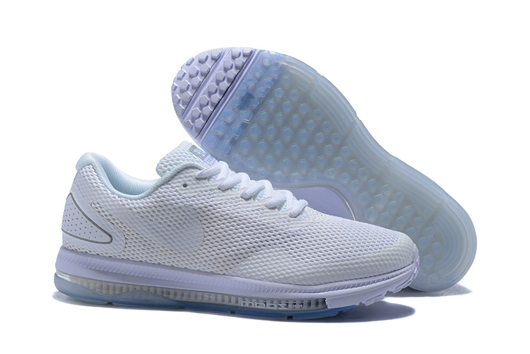 Nike Zoom All Out Low 2 Triple White Running Shoes For Sale
