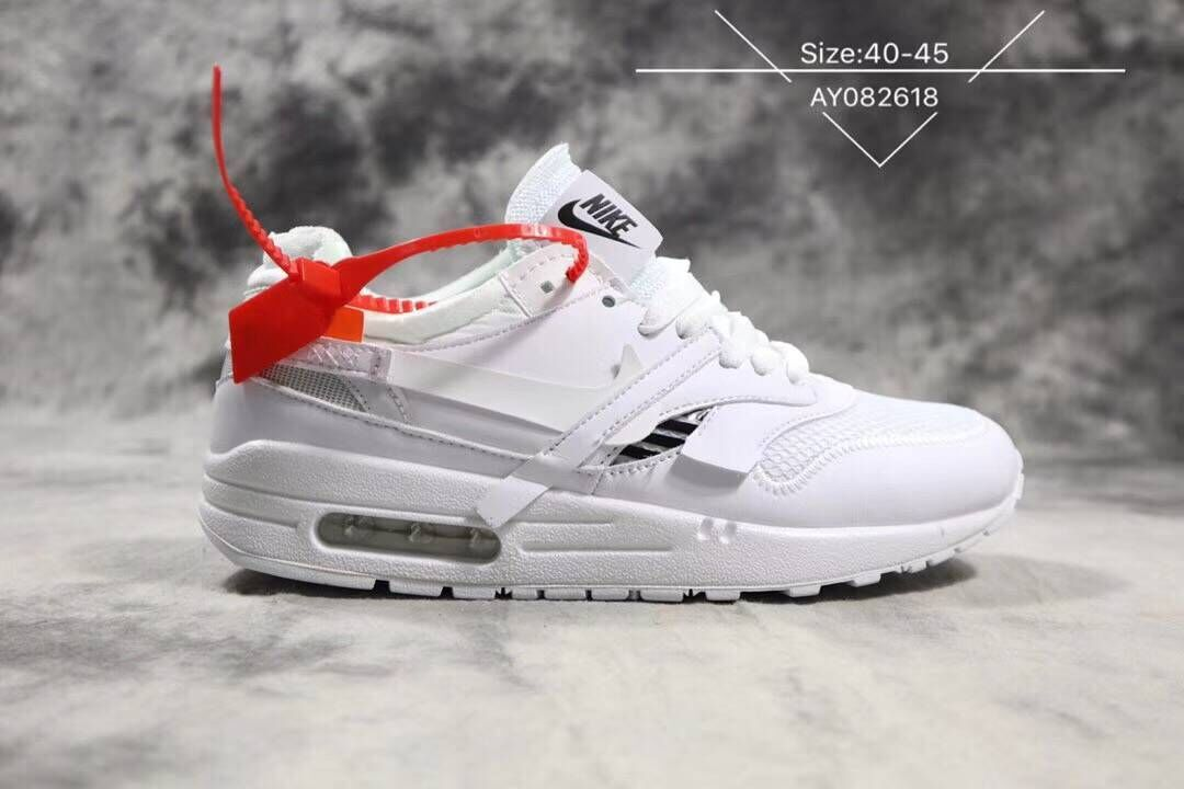 Off-White x Nike Air Max 87 1 Triple White - Cheap Nike Air ...