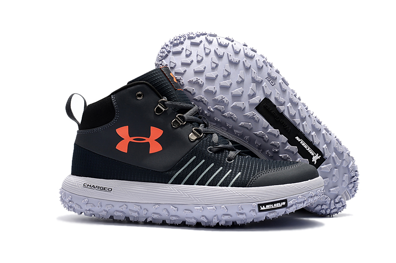7d2498f74b7fcb get under armour ua fat tire gtx black white orange trail running shoes for  sale be4ac