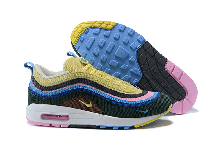 Wmns Air Max 1 97 Vf Sw Sean Wotherspoon Purple White Black Blue