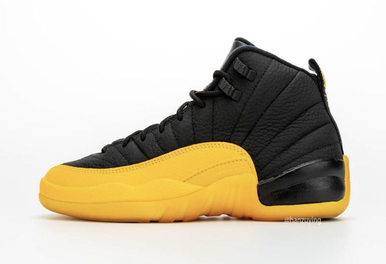 Where To Buy 2020 Cheap Nike Air Jordan 12 Black University Gold 130690-070