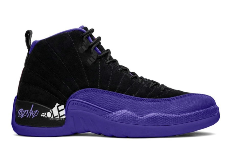 Where To Buy 2020 Cheap Nike Air Jordan 12 Dark Concord Black-Dark Concord CT8013-005