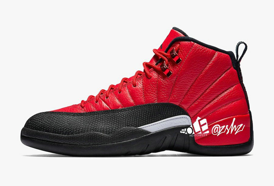 Where To Buy 2020 Cheap Nike Air Jordan 12 Reverse Flu Game Varsity Red Black CT8013-602