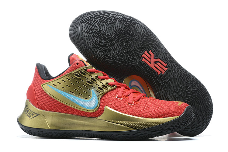 Where To Buy 2020 Cheap Nike Kyrie 2 Low Metallic Gold Red Black Blue