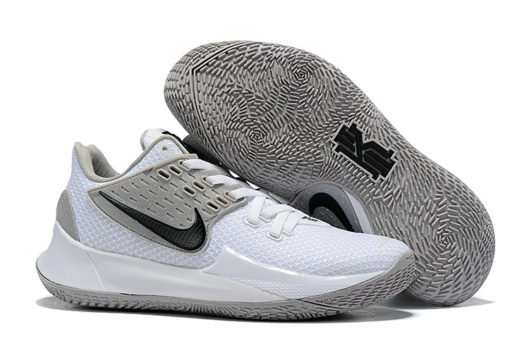 Where To Buy 2020 Cheap Nike Kyrie 2 Low White Cool Grey Black