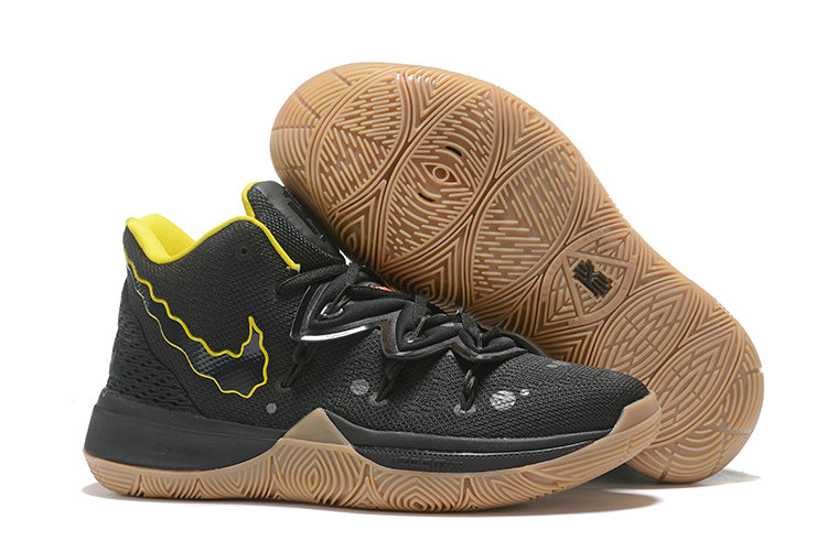 Where To Buy 2020 Cheap Nike Kyrie 5 Black Yellow Wheat