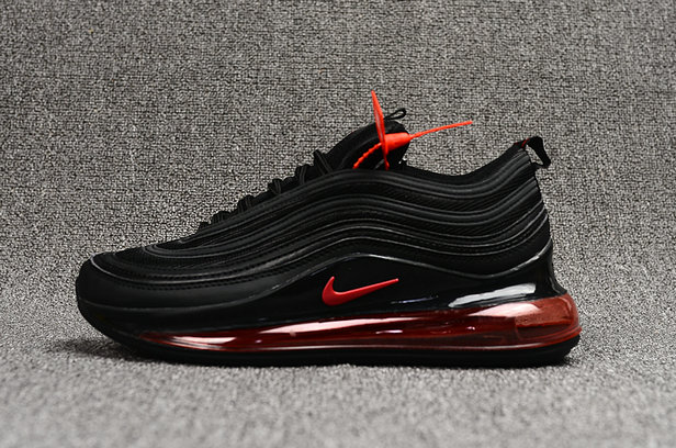 2018 Nike Air VaporMax x Air Max 97 Fire Red Black Cheap