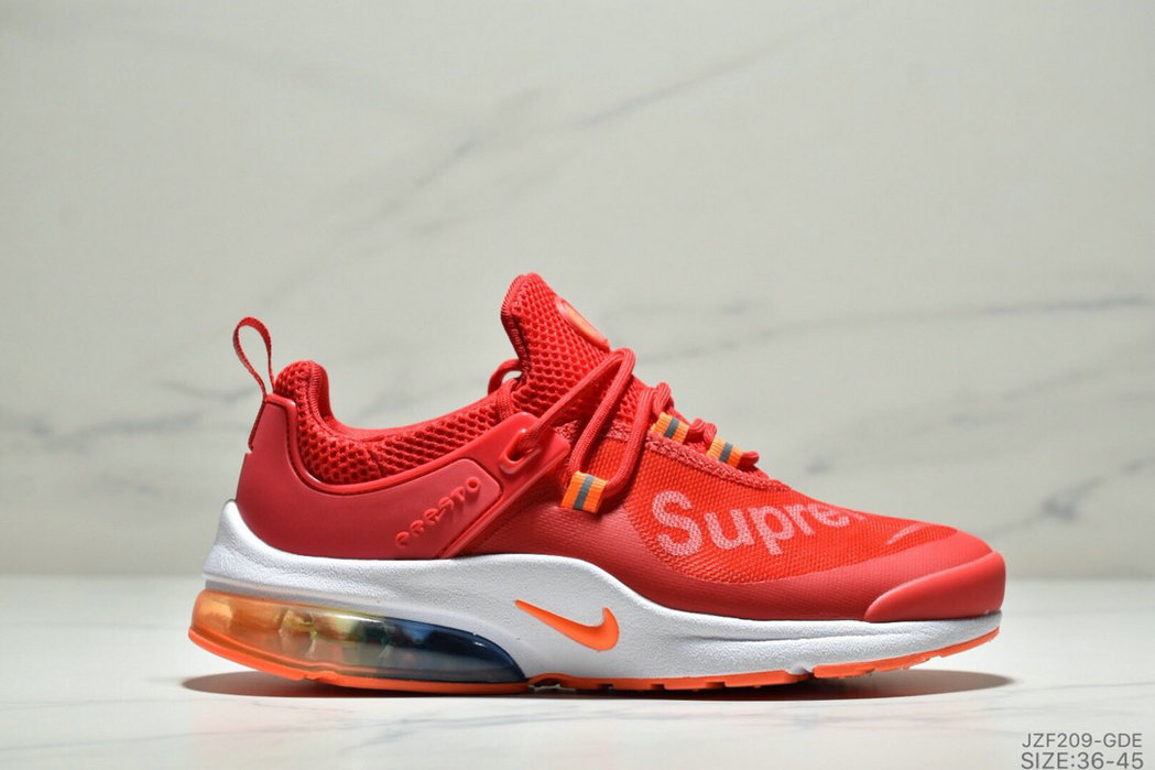 Where To Buy Cheap Nike Air Presto Supreme University Red White Orange