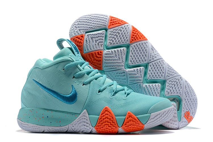 Cheap Where To Buy Nike Kyrie 4 Power is Female 943806-402 Light Aqua Neo ce415f0b5