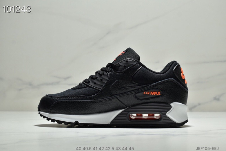 hot sale online bf4df c5baa Womens Nike Air Max 90 Black-Habanero Red-Black CD1526-001