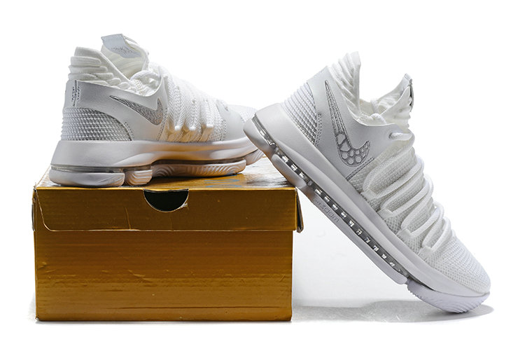 1434d9fbdb52 2018 Cheap Nike Kevin Durant 10 X Triple White - Cheap Nike Air ...