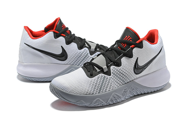 adf880e4535c 2018 Cheap Nike Kyrie Irving Flytrap White Red Black - Cheap Nike ...