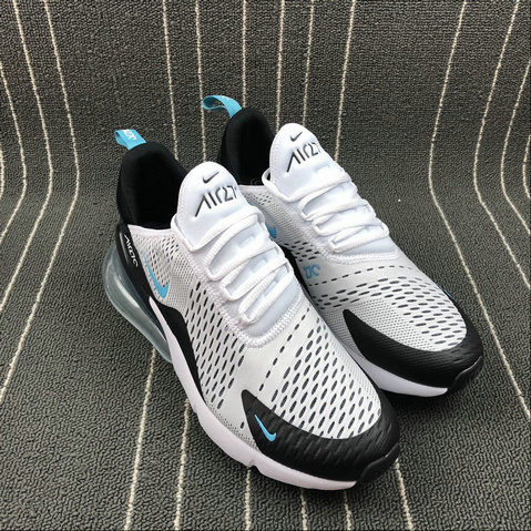 new arrival cf85c 682e9 ... 2018 NikeLab Air Max x Cheap Womens Nike Air Max 270 White Black Blue  Month Blanc ...