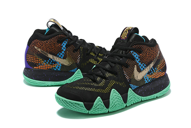 a353da62b4 ... best price 2018 nike kyrie irvings 4 apple green gold black white cheap  sale 6cddd 13758