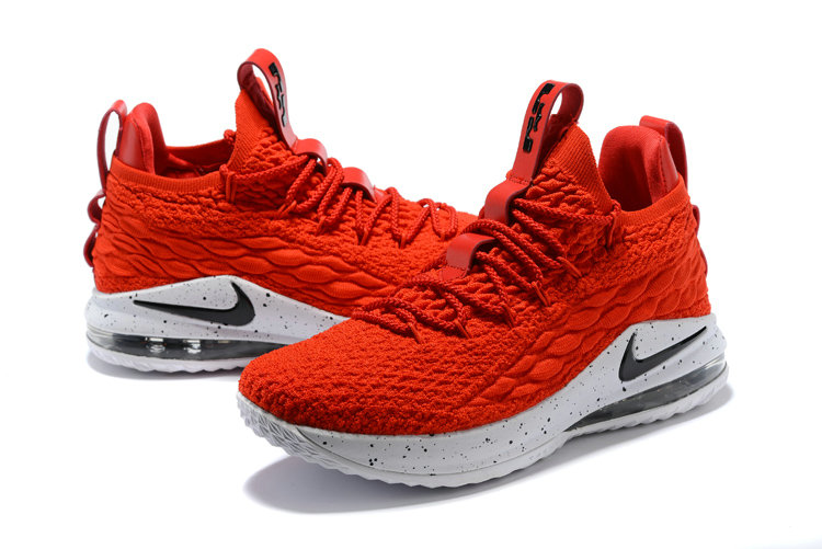... 2018 Nike Lebron 15 Low University Red White Black Cheap Sale ... 264ce91ee