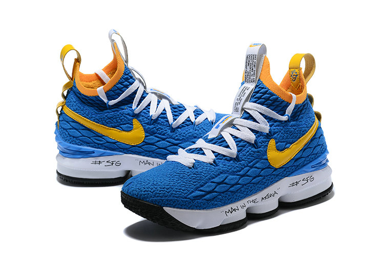more photos 5fe85 7915e 2018 Nike Lebron Shoes x Cheap Nike LeBron 15 Waffle Yellow ...