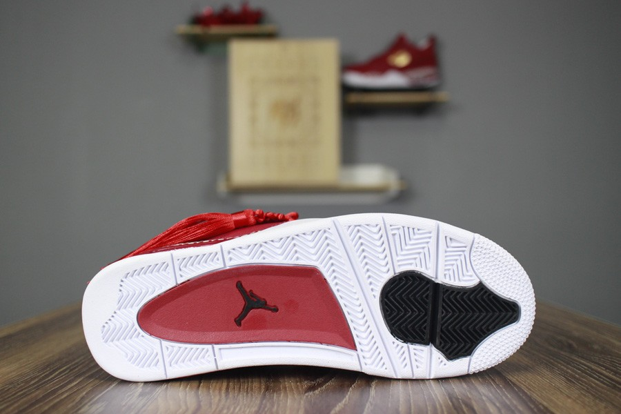 dc7e713ad0f3 ... 2018 Remade x 400ml Red Air Jordan 4 CNY Chinese New Year Custom For  Sale ...