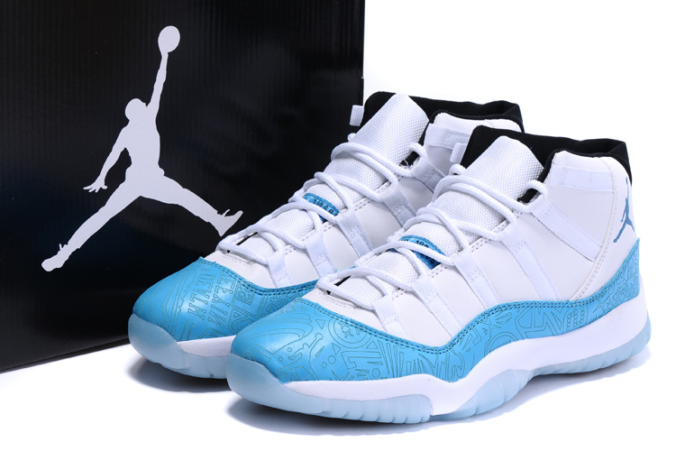 wholesale dealer 0c61b c184f ... Air Jordans 11 Custom Laser Legend Blue For Sale ...
