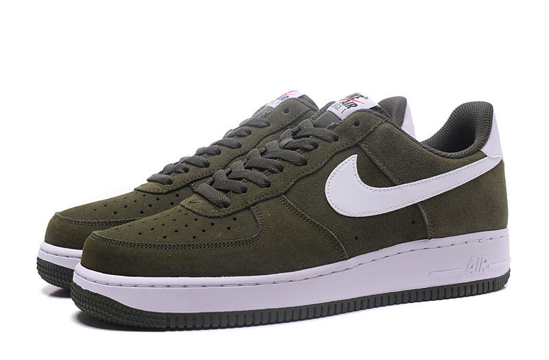 Cheap Nike Air Force 1 Low Army Green White Cheap Nike Air