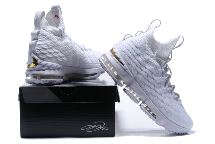 buy online 1b8f7 8d293 Cheap Nike LeBron 15 Triple White For Sale - Cheap Nike Air ...