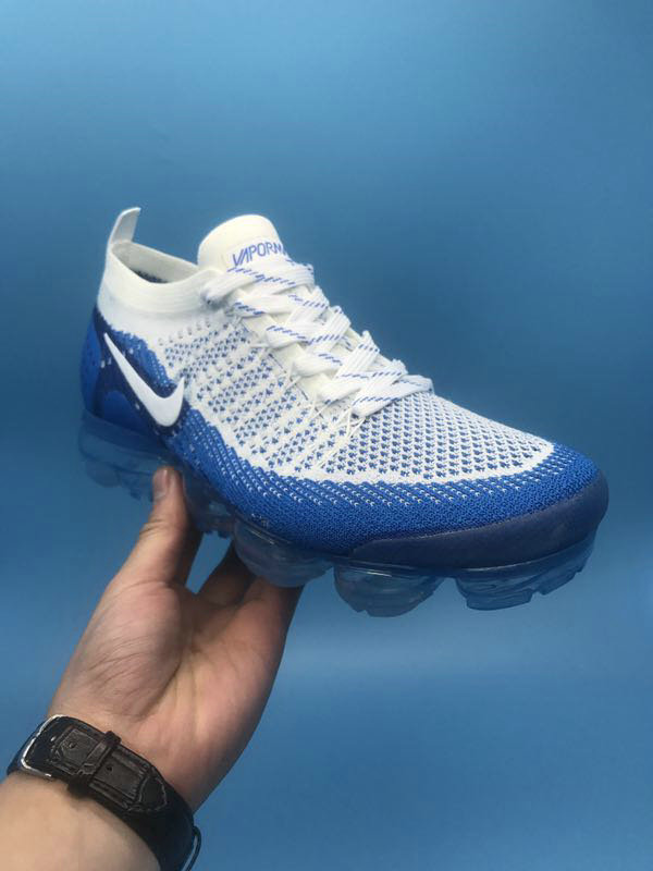 best sneakers 00950 e44a2 ... New 2018 Nike VaporMax Cheap x Nike Air VaporMax 2.0 White Royal Blue