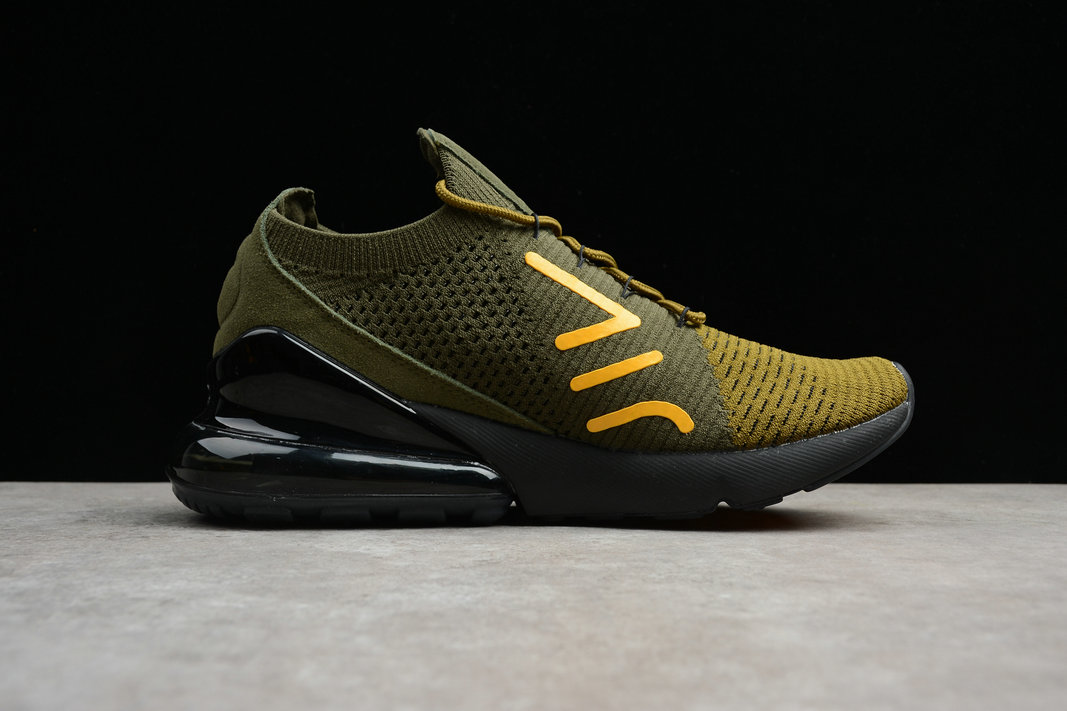 outlet store e2aed 5f473 ... Cheap NikeLab Air Max 270 Army Green Black Gold