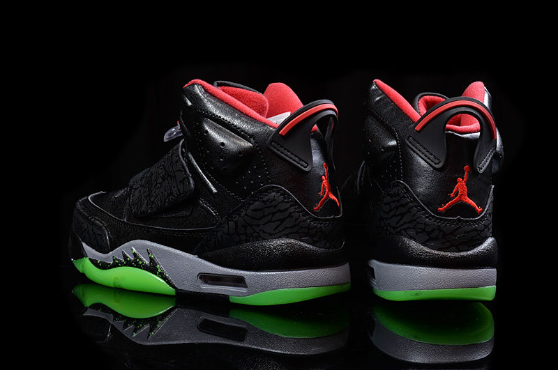 differently 592e0 c53d1 Jordan Son of Mars Yeezy Black Gym Red-Cool Grey-Pulse Green ...