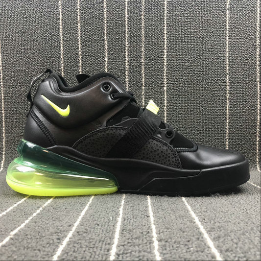 new style a0885 51b98 Nike Air Force 270 AH6772-006 Black Green - Cheap Nike Air ...