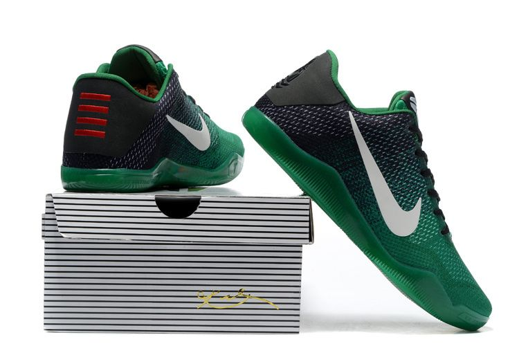 2928bccbe038 Nike Kobe 11 Black Green Shoes For Sale Online Outlet - Cheap Nike ...