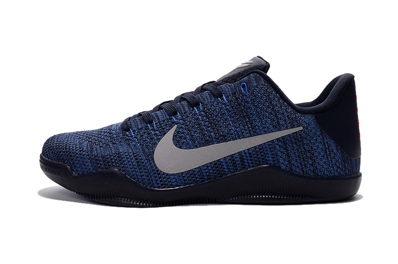 competitive price 655d6 61434 ... Nike Kobe 11 Flyknit Blue Basketball Shoes For Sale ...