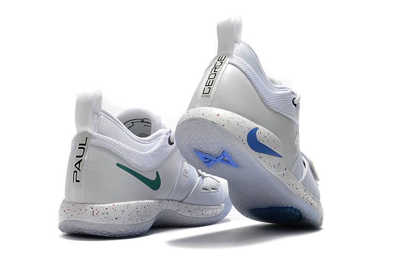 lowest price 7074c f8459 Cheap Nike PG 2 The Bait II AJ2039-100 White Photo Blue - Cheap Nike ...
