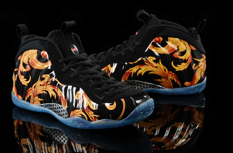 Nike Air Foamposite One Tiger Stripes Sneaker Scouts